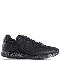 Текстильные кроссовки Premiata черного цвета, фото