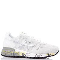 Массивные кроссовки Premiata в белом цвете, фото