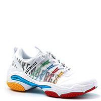 Белые кроссовки Bikkembergs с разноцветными вставками, фото