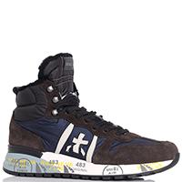 Высокие кроссовки Premiata двухцветные, фото
