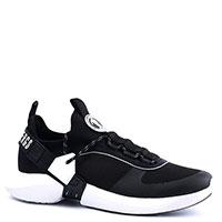 Черные кроссовки Bikkembergs с белыми вставками, фото