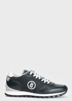 Черные кроссовки Bogner с логотипом, фото