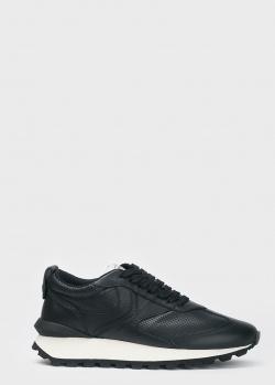 Черные кроссовки Voile Blanche на массивной подошве, фото