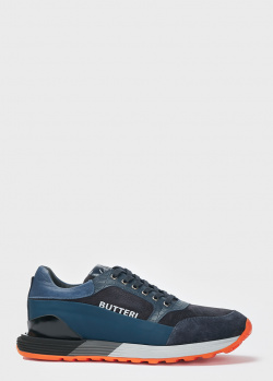 Массивные кроссовки Gianfranco Butteri черного цвета, фото