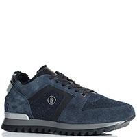 Утепленные кроссовки Bogner синего цвета, фото