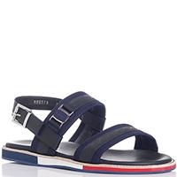 Синие сандалии Baldinini с черными вставками, фото