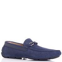 Туфли Baldinini из замши синего цвета, фото