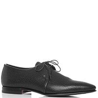 Черные туфли Fabi с перфорацией, фото