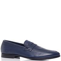 Синие туфли Fabi из гладкой кожи, фото