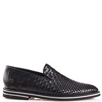 Туфли Baldinini черного цвета без шнуровки, фото