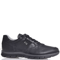 Кроссовки Nero Giardini с молнией черного цвета, фото