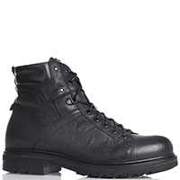 Мужские ботинки Nero Giardini с боковой молнией черного цвета, фото