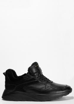 Кроссовки на меху Henderson Baracco черного цвета, фото