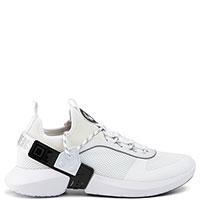 Белые кроссовки Bikkembergs на высокой подошве, фото