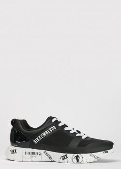 Черные кроссовки Bikkembergs из текстиля, фото
