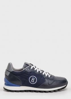 Мужские кроссовки Bogner темно-синего цвета, фото