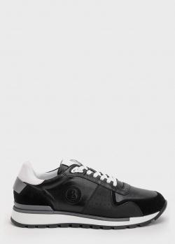 Мужские кроссовки Bogner из кожи и замши, фото