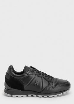 Черные кроссовки Bogner с металлическим лого, фото