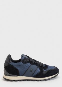 Синие кроссовки Bogner с логотипом, фото