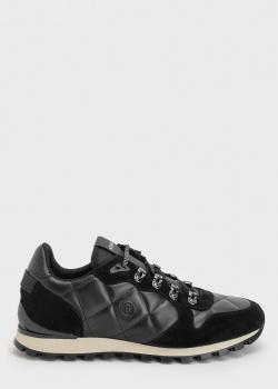Мужские кроссовки Bogner с геометрической стежкой, фото