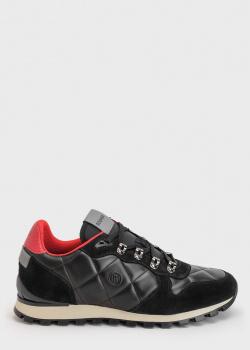 Стеганые кроссовки Bogner на шнуровке, фото
