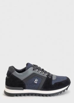 Мужские кроссовки Bogner с цветными вставками, фото
