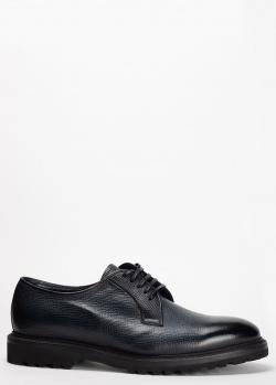 Синие туфли-дерби Barrett на меху, фото