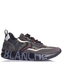 Мужские кроссовки Voile Blanche с вставками серого цвета, фото
