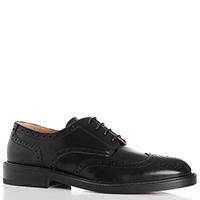 Туфли-броги Dino Bigioni черного цвета, фото
