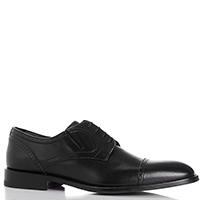 Черные туфли Dino Bigioni из гладкой кожи, фото