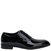 Черные туфли Emporio Armani из лаковой кожи, фото