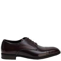 Туфли Emporio Armani из темно-коричневой кожи, фото