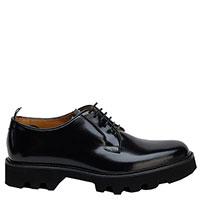 Туфли Emporio Armani из лаковой черной кожи, фото