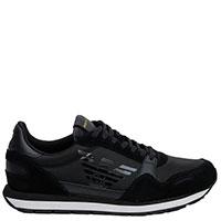 Кроссовки Emporio Armani черного цвета, фото