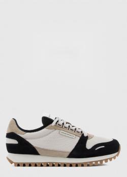 Кроссовки Emporio Armani с черными вставками, фото