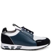 Синие кроссовки Emporio Armani, фото
