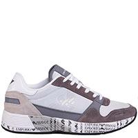 Мужские кроссовки Emporio Armani с принтом на подошве, фото