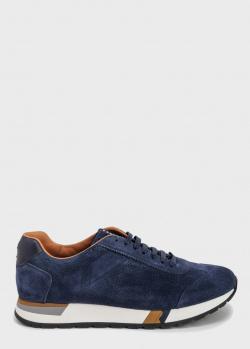 Кроссовки Fratelli Rossetti темно-синего цвета, фото