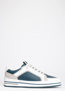 Мужские кроссовки Giampiero Nicola на толстой подошве, фото