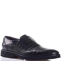 Черные туфли Bagatto с фактурным тиснением, фото