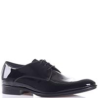 Лаковые туфли Giampiero Nicola черного цвета, фото