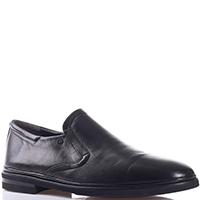 Черные туфли Gianfranco Butteri из гладкой кожи, фото