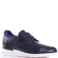 Синие кроссовки Emporio Armani с перфорацией, фото