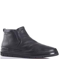 Черные ботинки Gianfranco Butteri из зернистой кожи, фото