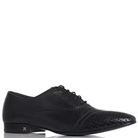 Мужские туфли John Richmond черного цвета, фото
