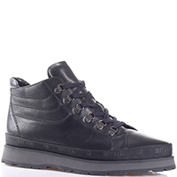 Ботинки Gianfranco Butteri черного цвета на толстой подошве, фото