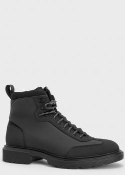Ботинки Hugo Boss Dart на шнуровке, фото