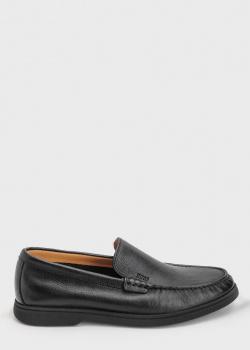 Туфли-лоферы Hugo Boss из мягкой кожи, фото