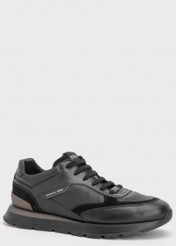 Мужские кроссовки Hugo Boss Arigon черного цвета, фото