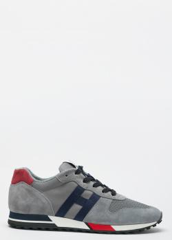 Кроссовки Hogan H383 серого цвета, фото